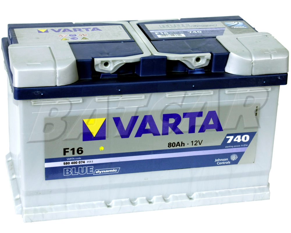 varta blue dynamic f16 80 ah 80ah autobatterie audi a2. Black Bedroom Furniture Sets. Home Design Ideas