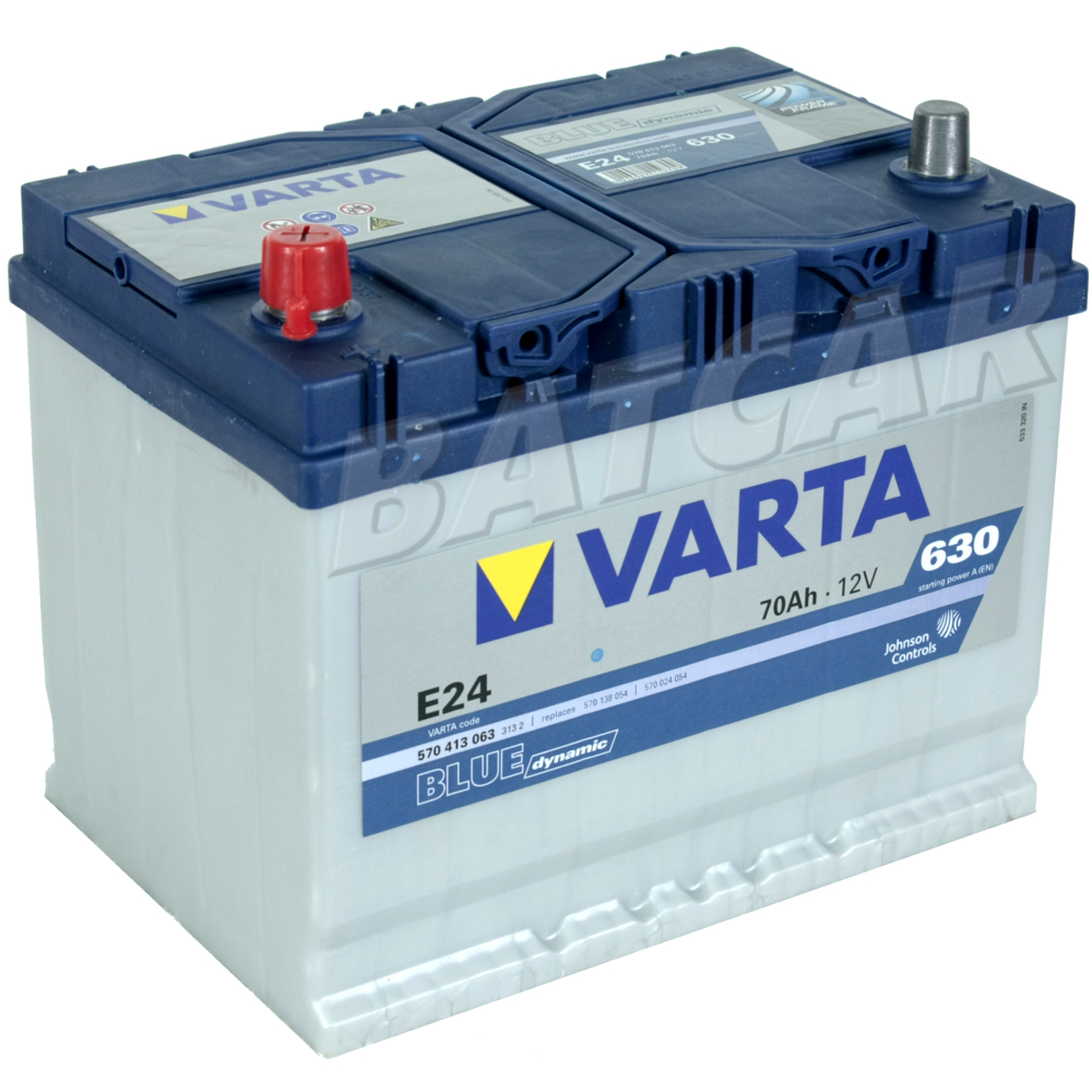 varta blue dynamic e24 70 ah 70ah 630a en l autobatterie mitsubishi pajero ebay. Black Bedroom Furniture Sets. Home Design Ideas