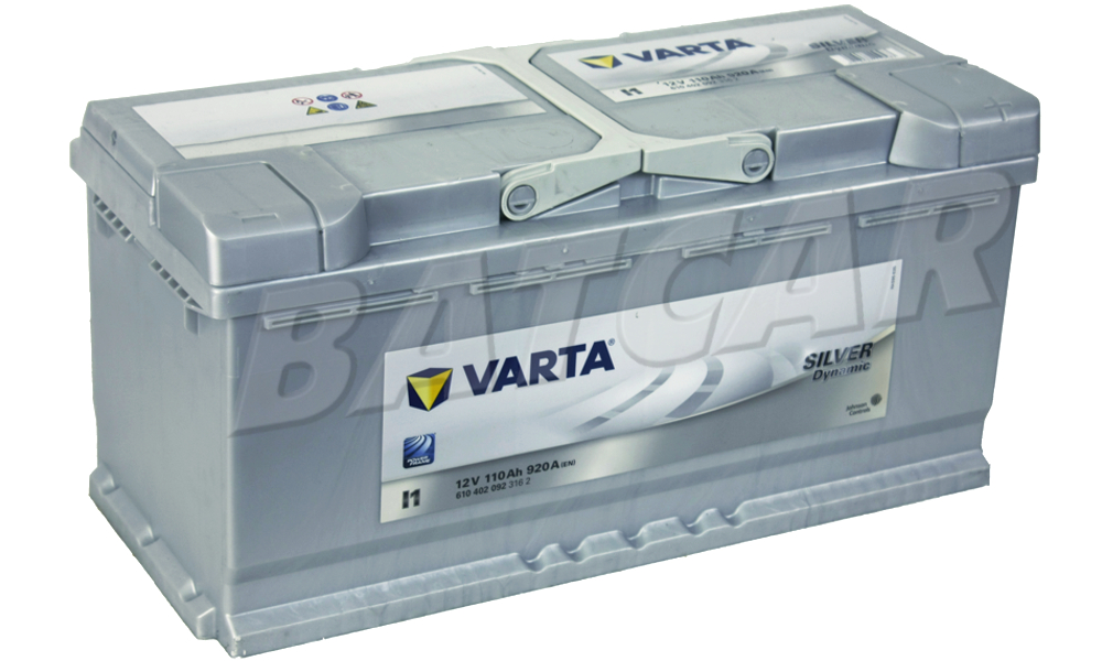 varta silver dynamic i1 110 ah 920a en autobatterie audi. Black Bedroom Furniture Sets. Home Design Ideas