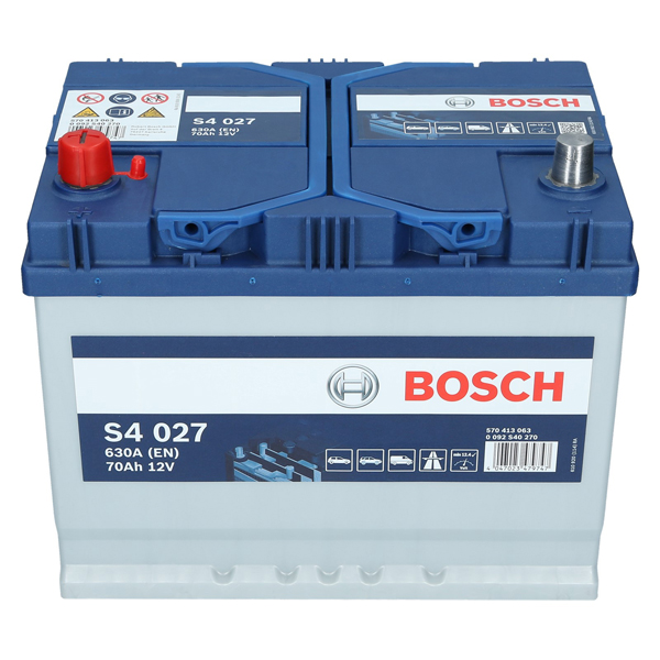 pkw autobatterie 12 volt 70 ah bosch s4 027. Black Bedroom Furniture Sets. Home Design Ideas