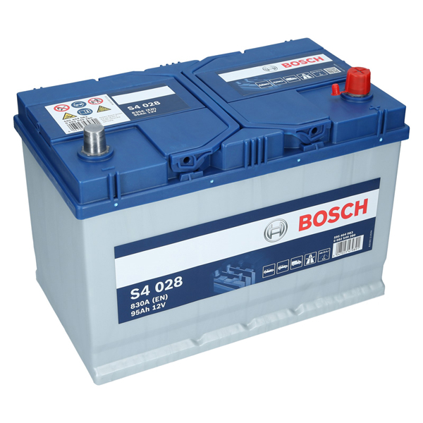 bosch s4 028 12v 95ah 830 a en autobatterie. Black Bedroom Furniture Sets. Home Design Ideas