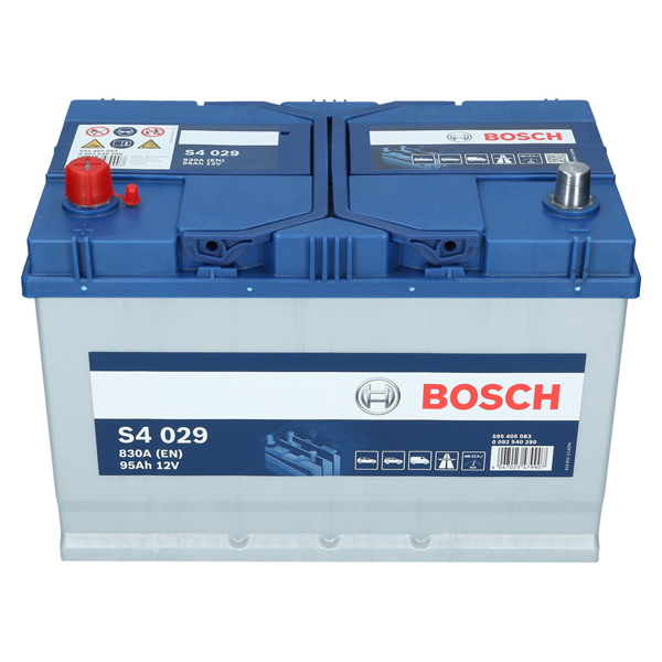 pkw autobatterie 12 volt 95 ah bosch s4 029. Black Bedroom Furniture Sets. Home Design Ideas