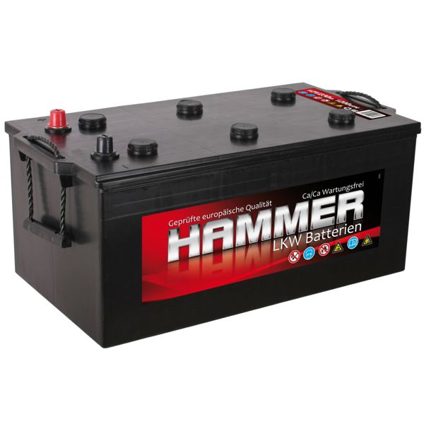 hammer lkw batterie 12v 230ah shop. Black Bedroom Furniture Sets. Home Design Ideas