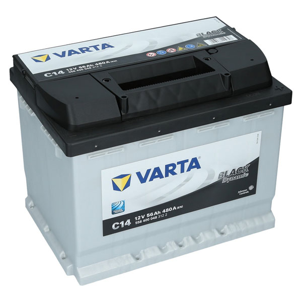 varta 12v 56ah 480a en autobatterie black dynamic c14. Black Bedroom Furniture Sets. Home Design Ideas