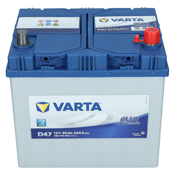 varta d47 12v 60ah 540a en autobatterie blue dynamic pkw batterie neu ebay. Black Bedroom Furniture Sets. Home Design Ideas